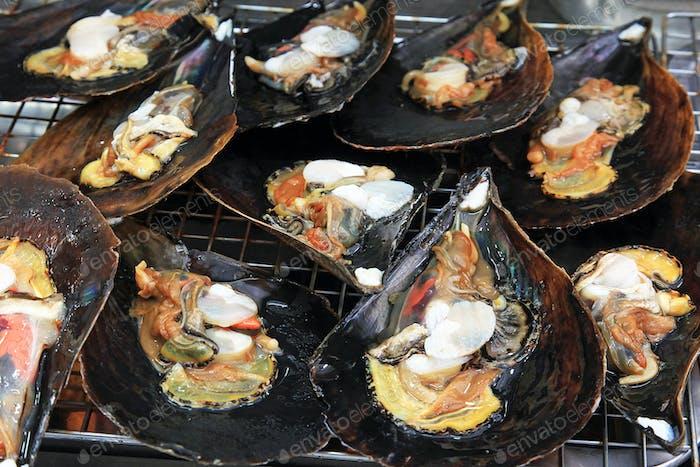 Shellfish for food