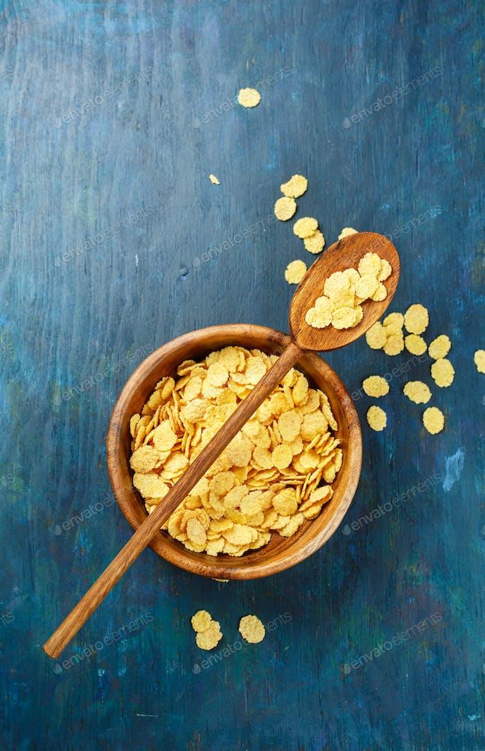 Goldene Cornflocken