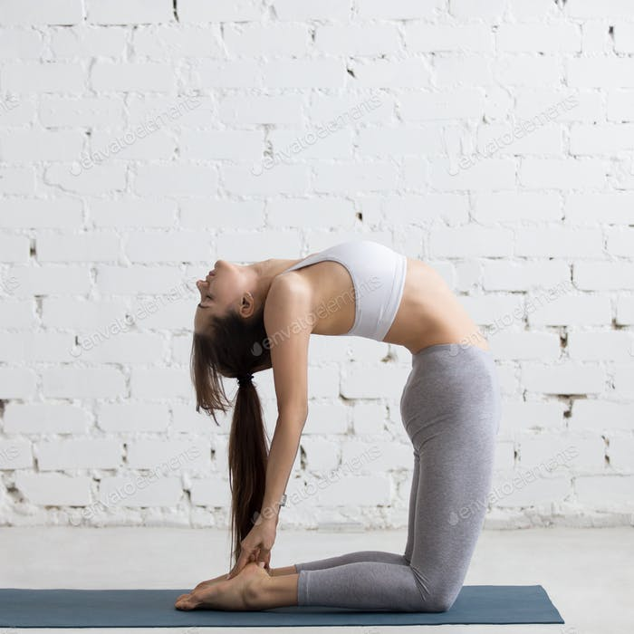 Yoga Indoors: Ustrasana Pose