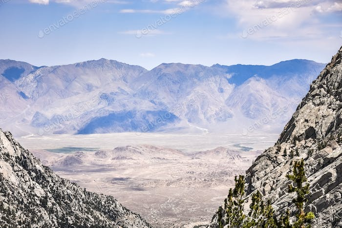 View towards Death Valley National Park