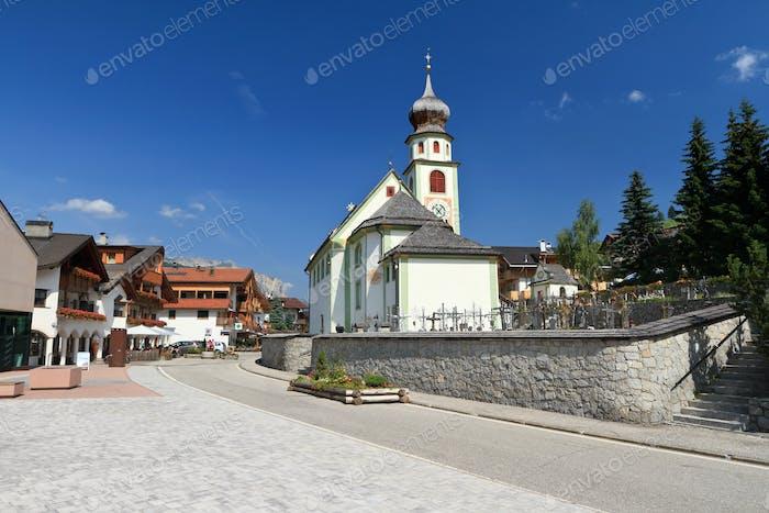 church in San Cassiano