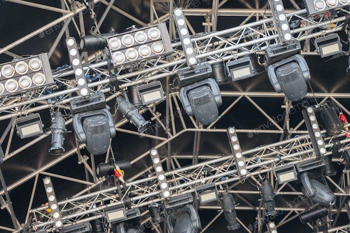 festival lighting rig