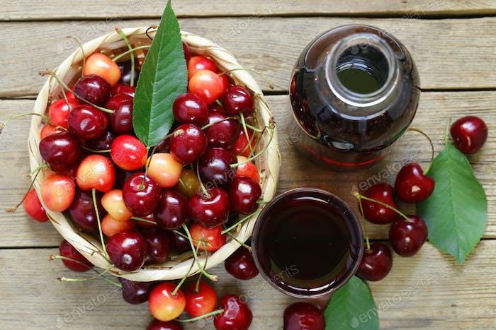 Organic cherry Juice
