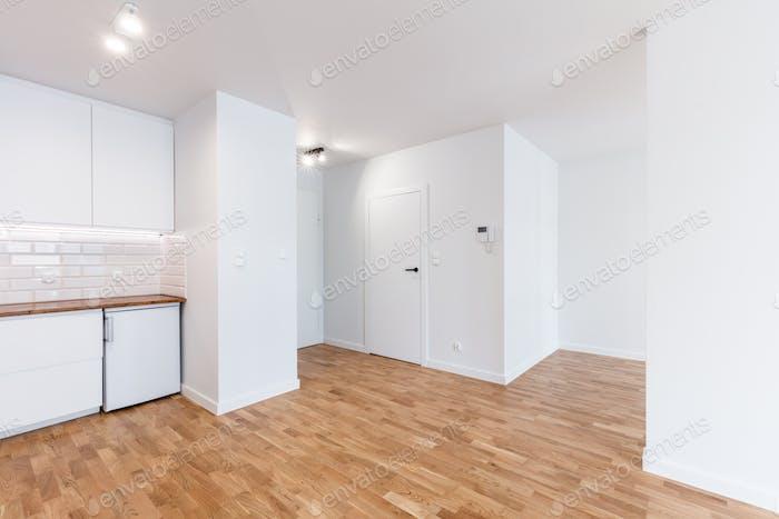 Empty new apartment interior