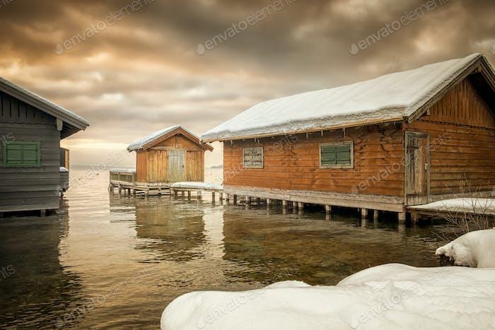 Winter-Seehütten
