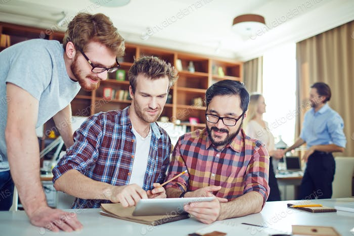 Men networking