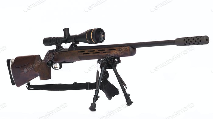 Sniper Rifle Side