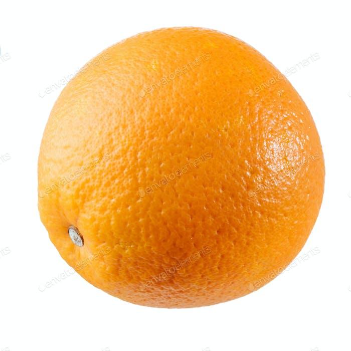 Tasty orange isolated on white background