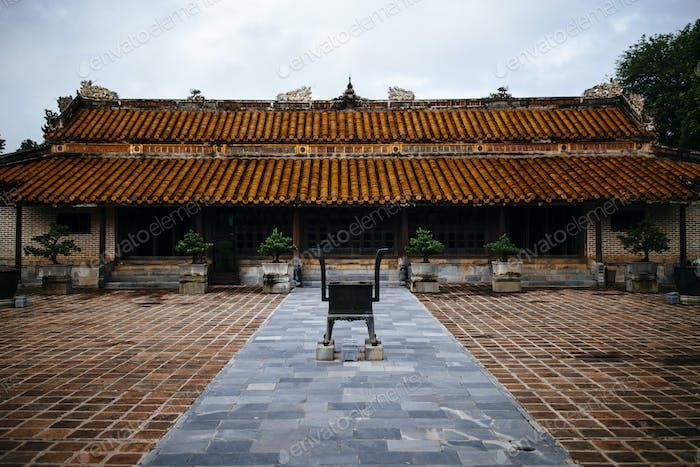Tu Duc Grab, auch bekannt als Sommerpalast, in Hue, Vietnam.