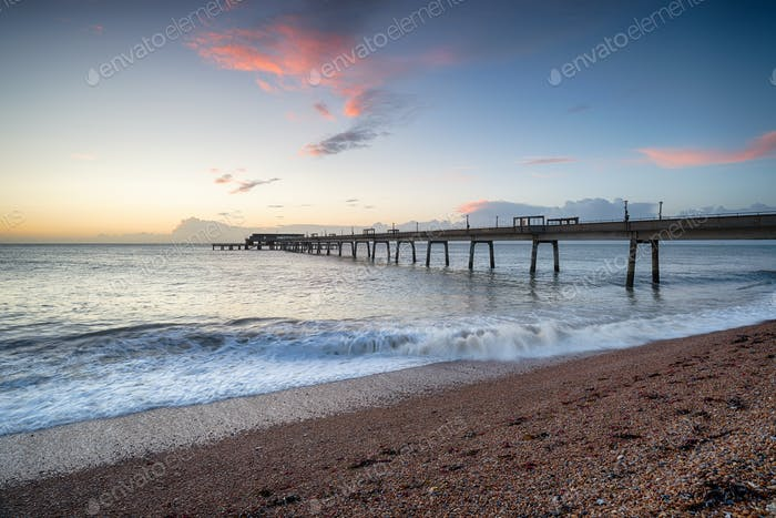 Dawn at Deal Pier