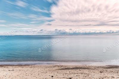 Langeland beach at daytime