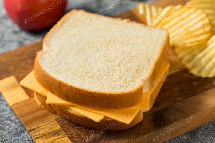 Homemade American Cheese Sandwich