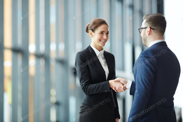 Handshaking with partner