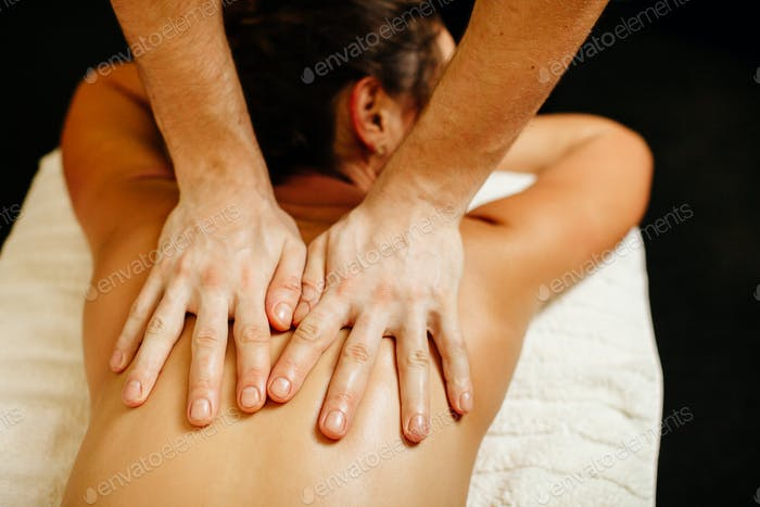 body massage back