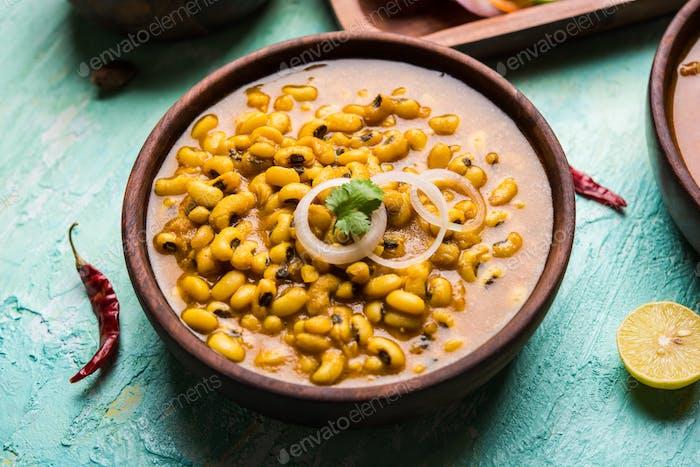 Black Eyed Kidney Bohnen Curry