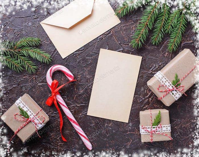 Thumbnail for Geschenkboxen, Zuckerrohr und Brief.