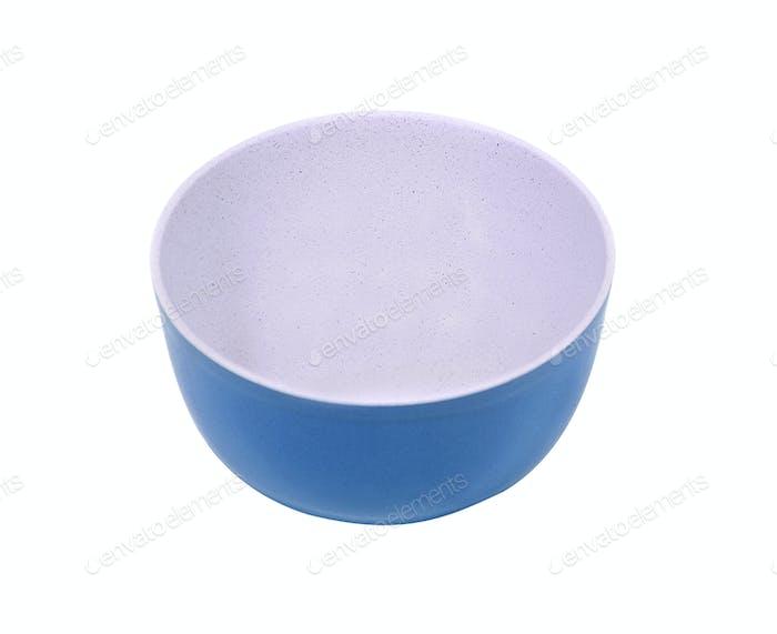 Empty pialat isolated on white