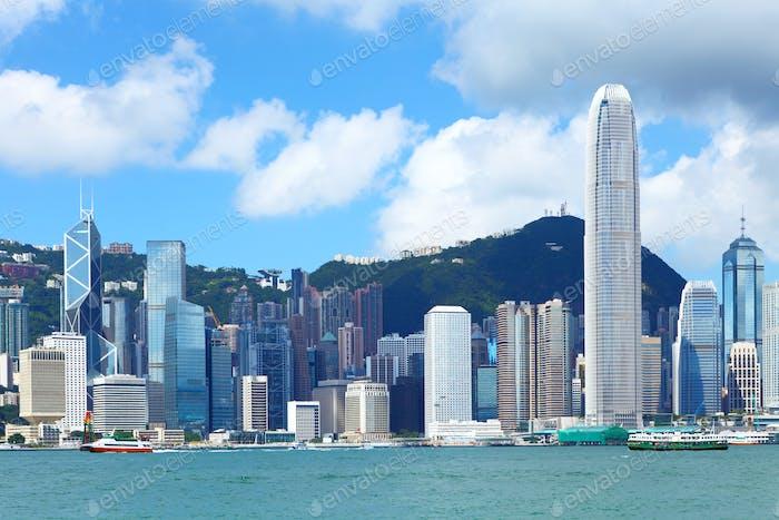 Hong Kong day time