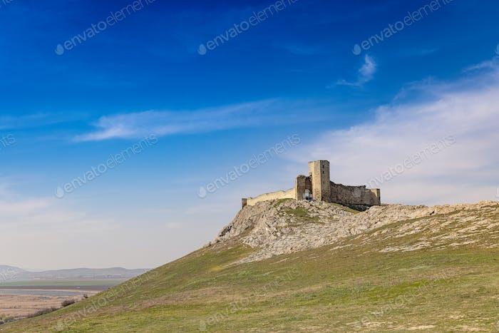 Increíble paisaje de esta fortaleza medieval