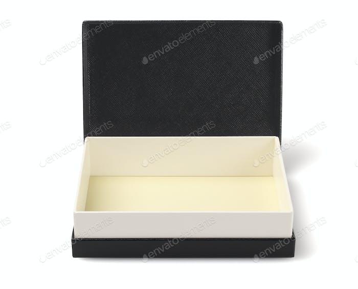Schwarze Geschenkbox