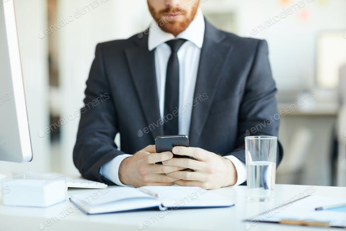 Scrolling in smartphone