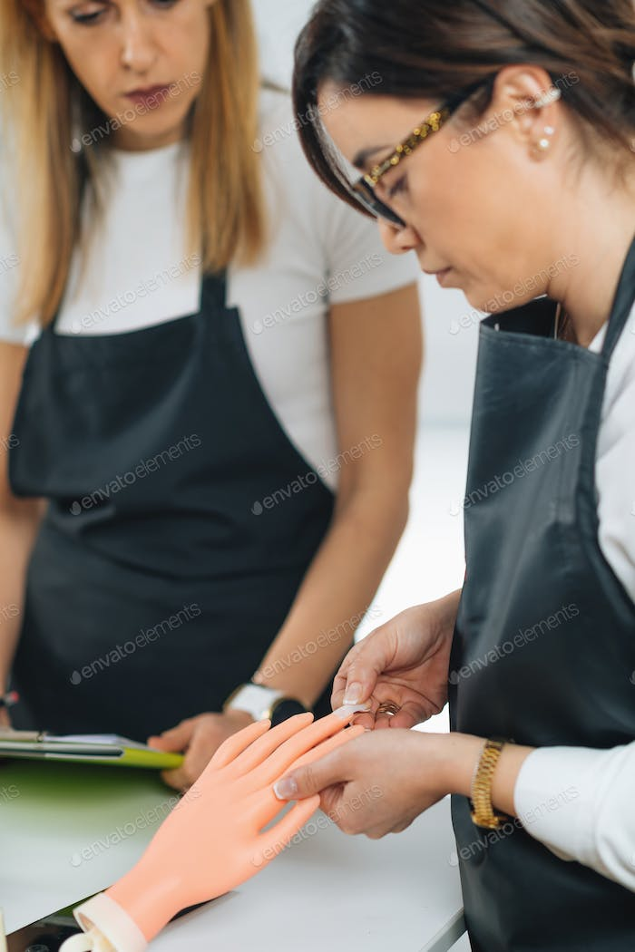 Cosmetology Education for Nail Salon Manicurist