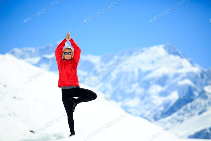 Freedom happy yoga meditation