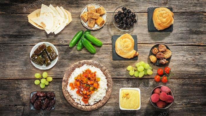 Ifthar Abendessen für Ramadan