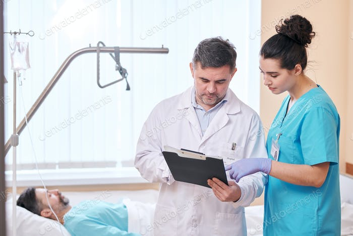 Analyzing health conditions of patient