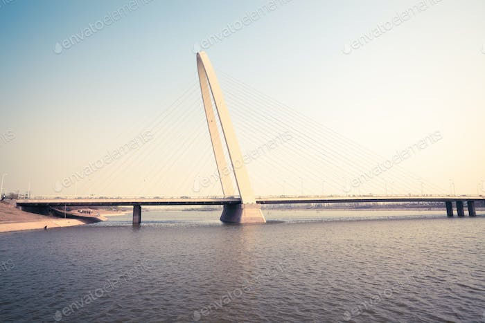 xian cable stayed bridge