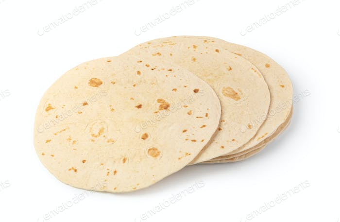 Plain tortilla wrap