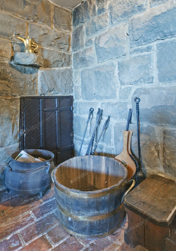 Rustic Tools in a Corner