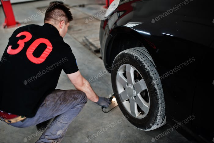 Car repair and maintenance theme