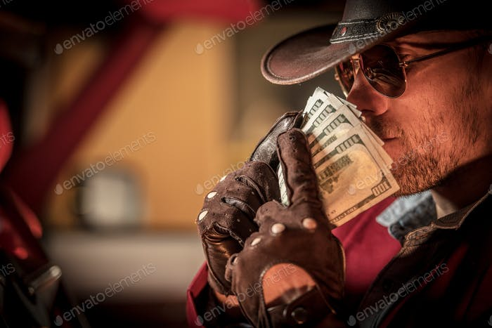 Cowboy Money Sniffing