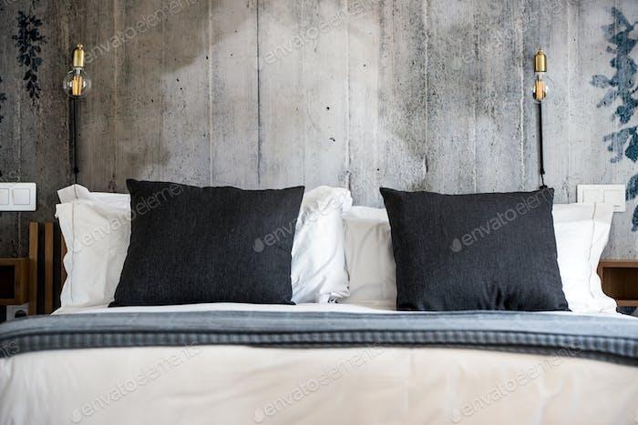 Beautiful modern bedroom interior design