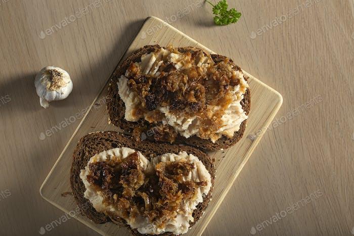 Iahnie - Romanian traditional food