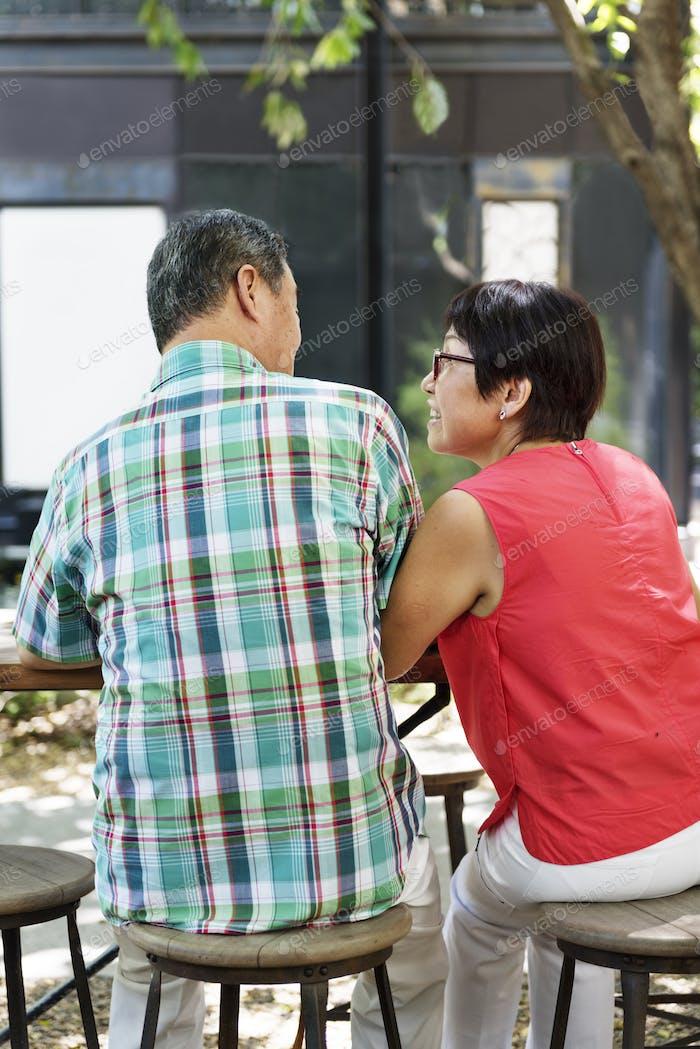 Senior Couple Leisure Outside Concept