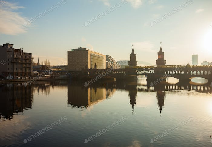 Thumbnail for Oberbaum Bridge and Universal Music Building