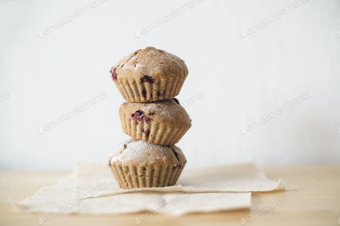 Hausgemachte Muffins