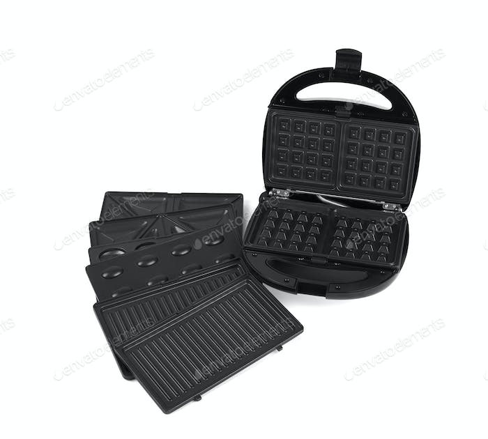 waffle maker isolated on a white background