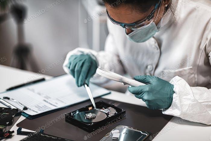 Forensic Data Laboratory Analysis