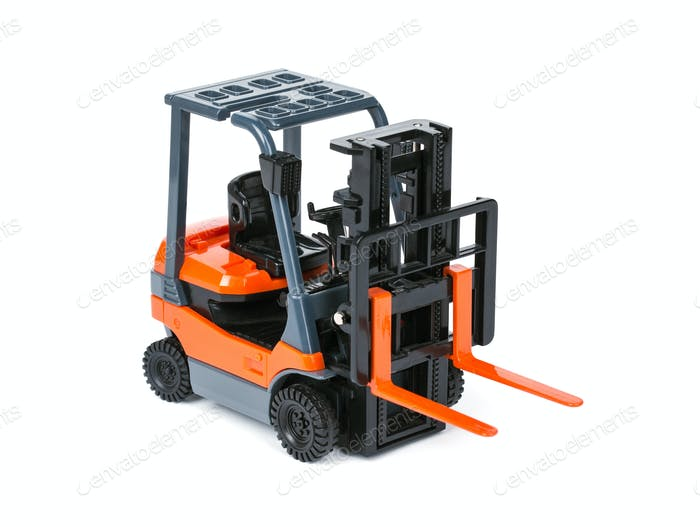 Loader isolated on a white