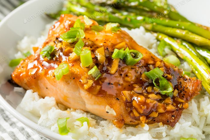 Homemade Baked Teriyaki Salmon