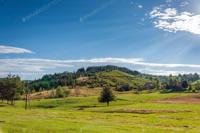 Beautiful landscape of Montenegro