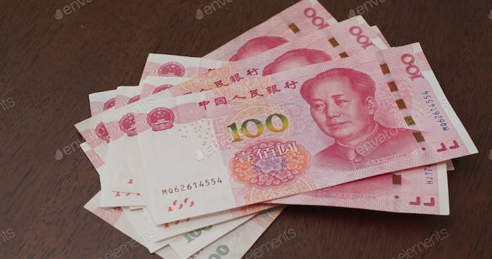 Counting of the RMB banknote