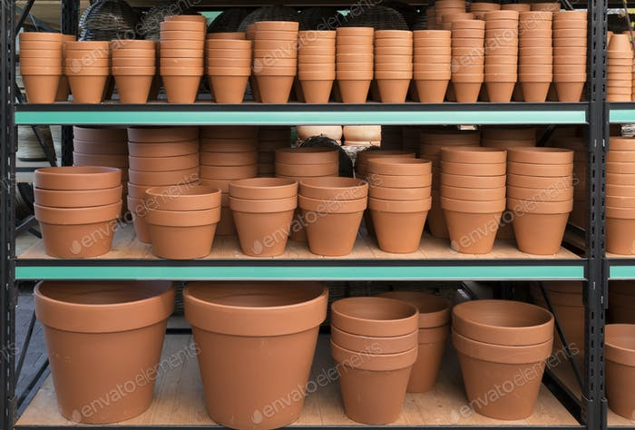 Ceramic flower pots for sale