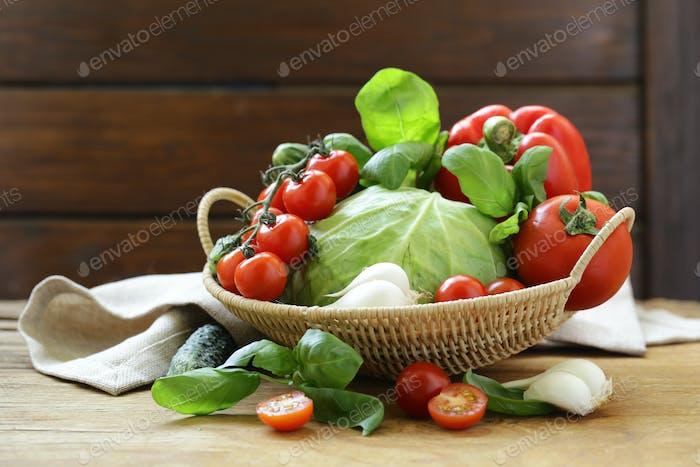 Fresh Spring Vegetables