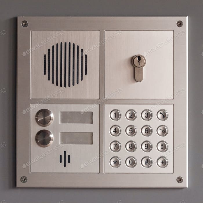 intercom access panel