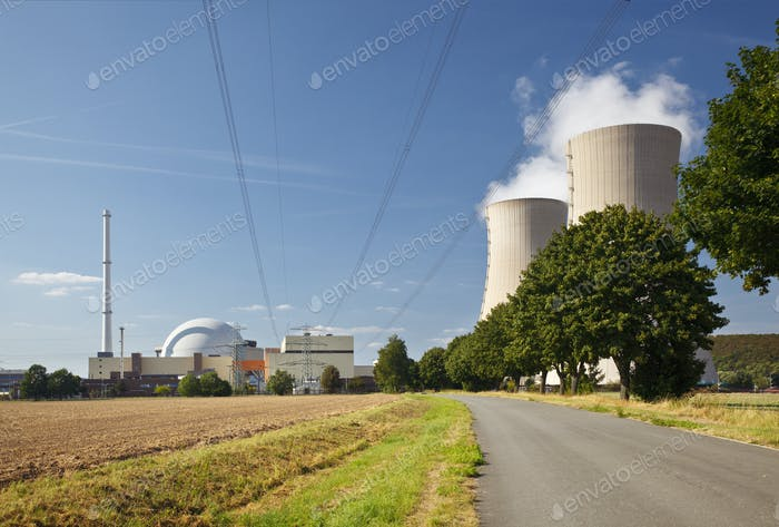 Road To Nuclear Power Station