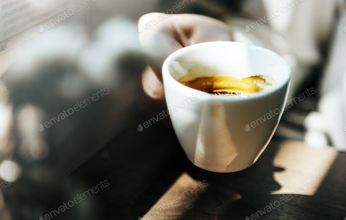 Kaffeetasse Nahaufnahme